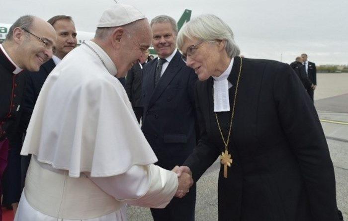 Il papa in Svezia per commemorare i 500 anni della Riforma