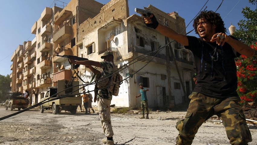 Libia: Esercito Nazionale Libico (LNA) di Haftar si è scontrato con le fazioni rivali a Bengasi » Gu