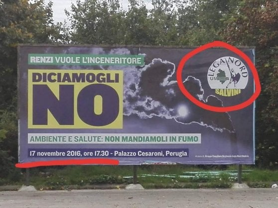 Matteo Salvini provoca ancora Di Maio sugli inceneritori