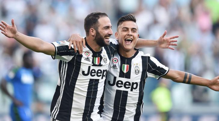 La Juventus ha sempre fame, primo posto sicuro