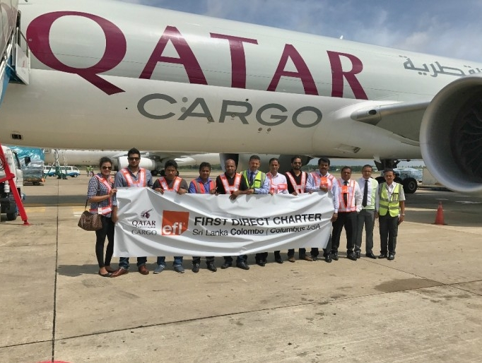 Qatar Cargo's first charter flight lands at Colombus, Ohio | Air Cargo