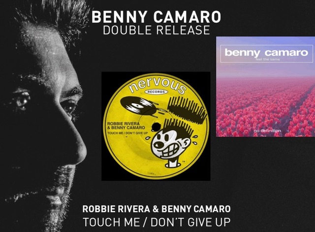 Doppia release per Benny Camaro: Touch Down / Don't Give Up