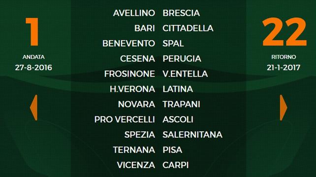 Parte la Serie B 2016-17: Benevento-Spal 1^ giornata Calcio Italiano News Serie B 3 ago 2016