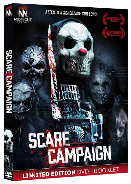 Novità in Home Video: il film horror Scare Campaign
