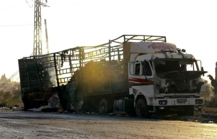 In Siria neppure i convogli umanitari vengono risparmiati