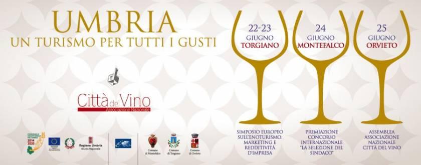 Città del Vino presenta una convention in Umbria per l'Enoturismo