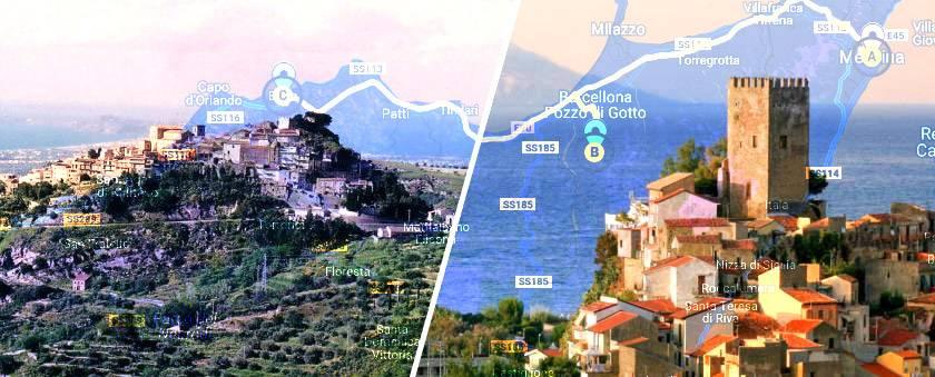 Messina: una gita a Castroreale e Brolo