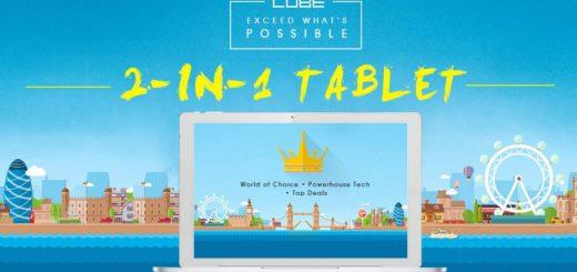 Tablet 2 in 1 in offerta su Gearbest – Grande festa Cube