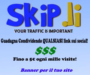 Skip.Li - Guadagna condividendo qualsiasi link