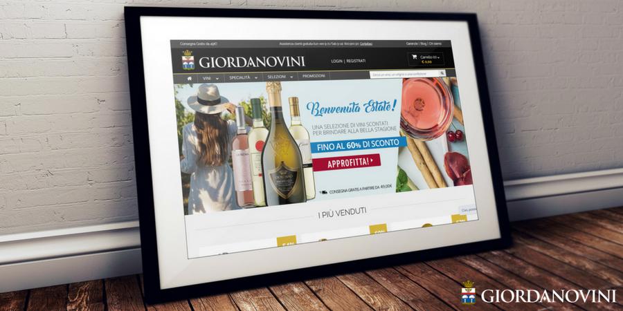 Scopri giordanovini.it: nuovo sito, stessa passione di sempre per i migliori vini italiani