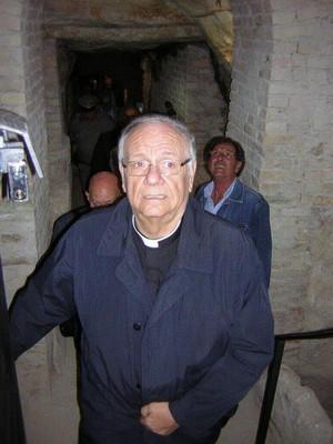 Monsignor Gianni Carrù: la scelta di Pilato nell'arte paleocristiana