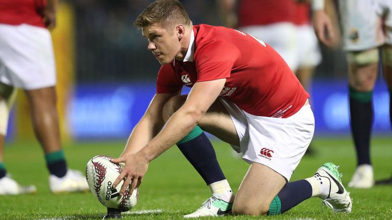 Rugby, Farrell trascina i Lions al successo sui Crusaders