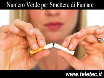 Numero Verde per Smettere di Fumare - Un aiuto concreto