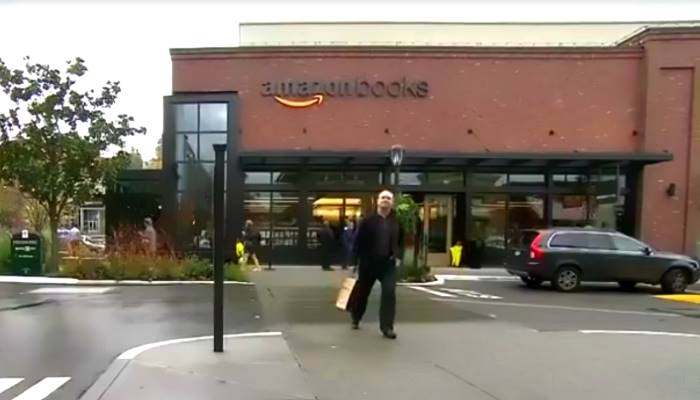 E adesso Amazon apre pure le librerie... in calce e mattoni