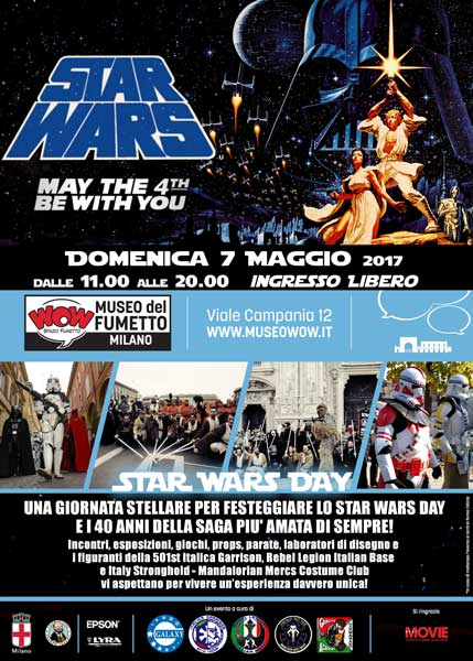 Milano - Weekend: pronti a festeggiare Star Wars?