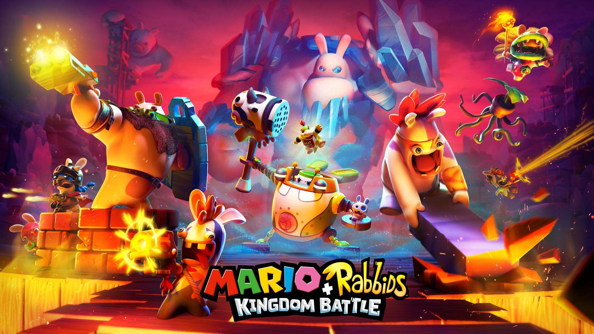 Mario + Rabbids Kingdom Battle per Nintendo Switch: i colorati mondi di gioco in nuove immagini