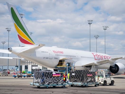 Ethiopian Airlines' latest A350 XWB flies relief goods to Ethiopia | Air Cargo