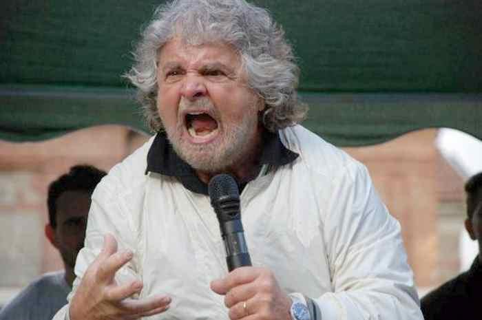 Grillo e la linea politica del Movimento 5 Stelle