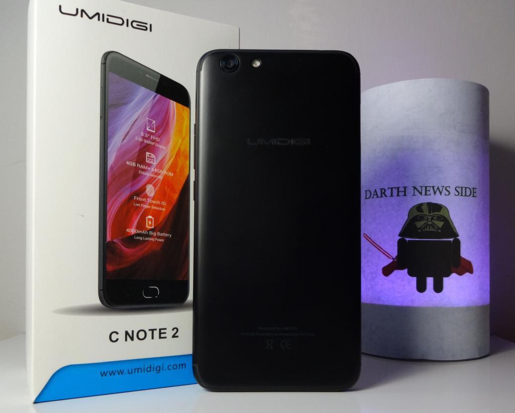 Recensione UMIDIGI C Note 2: smartphone low-cost, con design in stile iPhone 7 e che funziona bene