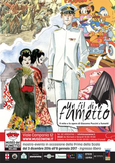 MOSTRE A MILANO Giacomo Puccini a fumetti