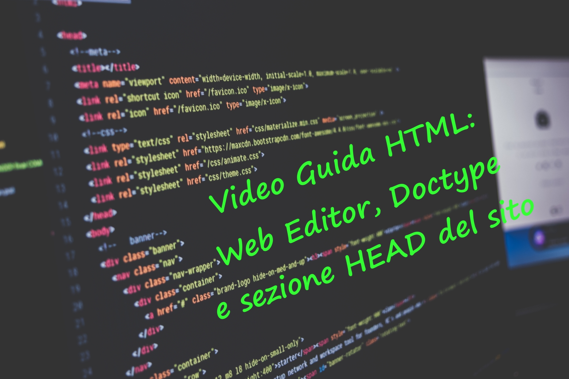 Guide HTML - Web Editor, Doctype e tag HEAD [By Codificando IT]