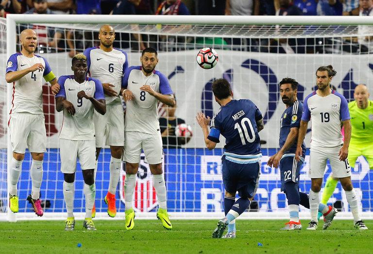 Copa America 2016: Usa-Argentina 0-4. Incredibile goal di Messi