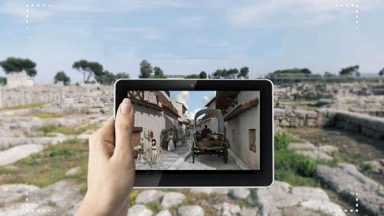L'antica città di Egnazia rivive grazie alla tecnologia digitale