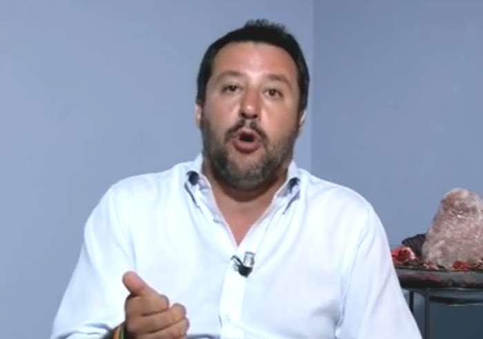 Matteo Salvini ospite di Maria Latella smentisce Calabresi: nessun incontro con Casaleggio