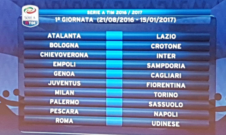 Parte la Serie A, big match dalla 1^ giornata: Il via il 21 agosto