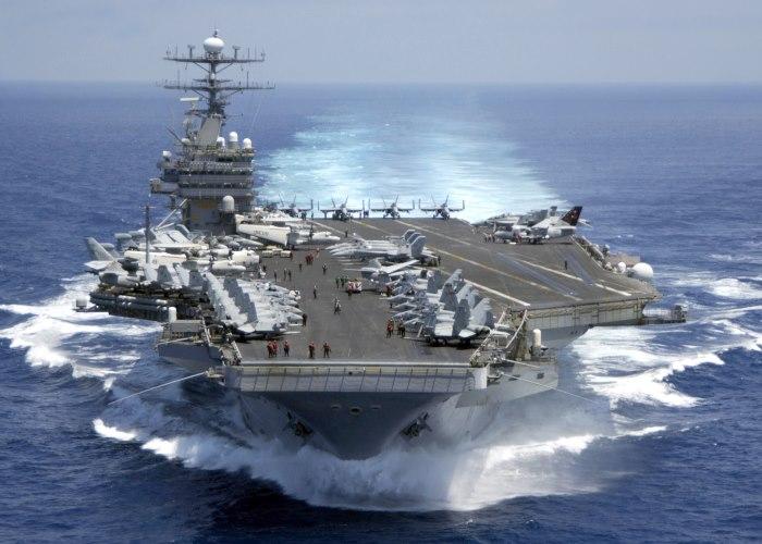 Un gruppo da battaglia della Marina USA è in rotta verso la Corea