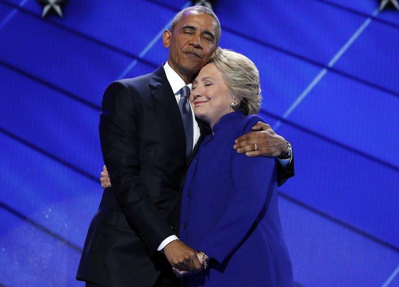 Obama nomina Hillary Clinton sua erede. La priorità è sconfiggere Trump